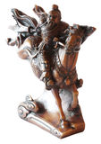 Figurine del cavaliere dal Vietnam o dalla Cina Immagine Stock Libera da Diritti