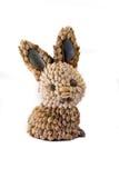 Figurine del coniglio del Seashell Fotografia Stock Libera da Diritti