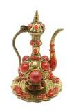 Figurine del POT del tè Immagini Stock