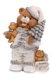 Figurine dell'orso di natale Fotografie Stock