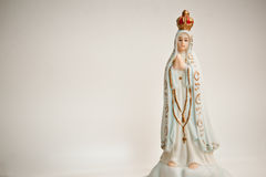 Figurine della Mary di Virgin Fotografia Stock
