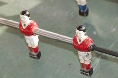 Figurine di Babyfoot Fotografia Stock