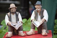 Figurine di ceramica Immagini Stock Libere da Diritti