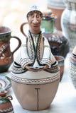 Figurine di ceramica Fotografia Stock