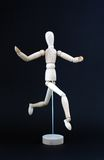 Figurine di legno Fotografia Stock Libera da Diritti