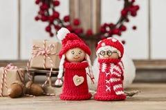 Figurine di Natale Fotografia Stock