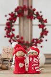 Figurine di Natale Immagine Stock