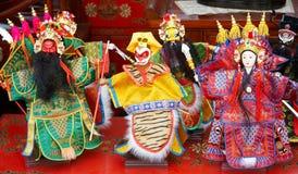 Figurine di opera di Pechino Immagini Stock