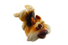 Figurine dog Stock Photography