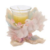 Figurine dos pombos Imagem de Stock