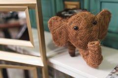 Figurine of elephant Royalty Free Stock Photos