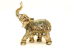 Figurine elephant Royalty Free Stock Photos