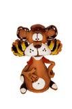 Figurine engraçado do tigre Imagem de Stock