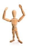 Figurine - estando imagens de stock