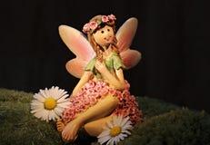 Figurine, Fairy, Petal, Flower