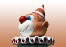 Figurine funny clown Stock Images