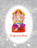 Figurine of Hindu god Ganesha. Royalty Free Stock Photos