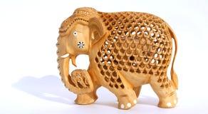 Figurine indienne de souvenir d'un éléphant Photographie stock libre de droits
