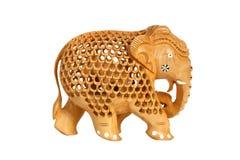 Figurine indienne de souvenir d'un éléphant Images libres de droits