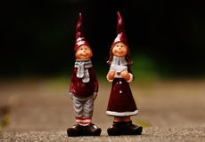 Figurine, Lawn Ornament, Garden Gnome, Christmas Stock Photography