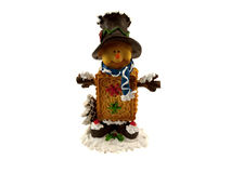 Figurine of the little man Royalty Free Stock Photography