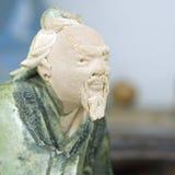 Figurine orientale dell'argilla   Immagini Stock