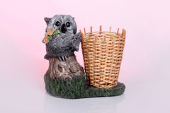 Figurine owl Royalty Free Stock Photography