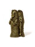 Figurine of the Pharaoh stock photography