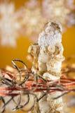 figurine santa Royaltyfria Bilder
