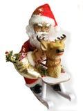 figurine santa royaltyfri bild