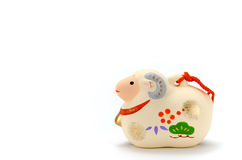 Figurine of Sheep. Stock Photo
