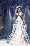 The figurine of the snow Queen Stock Photo