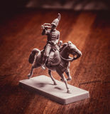Figurine soldier, Russian dragoon Royalty Free Stock Photography