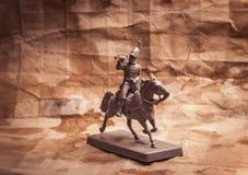 Figurine soldier, Russian dragoon Stock Image