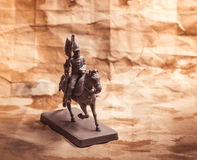 Figurine soldier, Russian dragoon Royalty Free Stock Photos