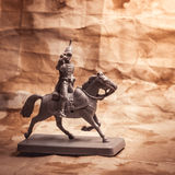Figurine soldier, Russian dragoon Stock Photography