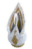 Figurine swan Royalty Free Stock Image