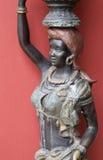 Figurine woman Royalty Free Stock Photo