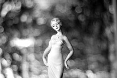Figurine of woman Stock Images