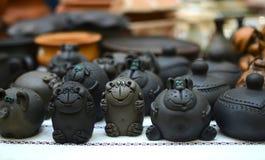 Figurines глины Стоковое Изображение