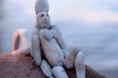Figurines женщин и человека Стоковое Изображение RF