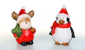 Figurines рождества Стоковая Фотография
