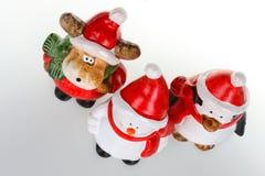 Figurines рождества Стоковое Изображение RF