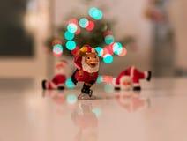 Figurines Санта Клауса Стоковая Фотография RF