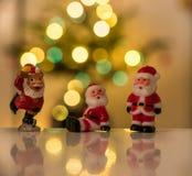 Figurines Санта Клауса Стоковые Изображения