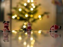 Figurines Санта Клауса Стоковое фото RF