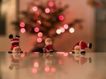 Figurines Санта Клауса Стоковое Изображение