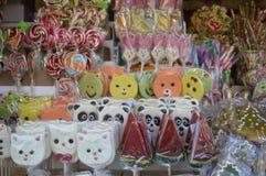 Figurines сахара, конфеты Стоковое Изображение