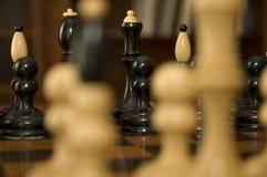 figurines шахмат Стоковые Изображения RF