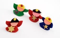 figurines 4 рождества Стоковая Фотография RF